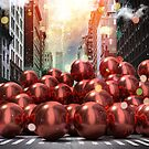 Giant Red Ball Pit NYC by Vin  Zzep