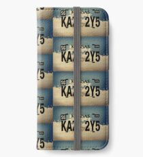 Winchester's Impala License Plate iPhone Wallet/Case/Skin