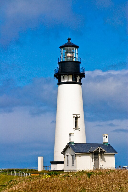 Quot Yaquina Bay Lighthouse Newport Oregon Quot By Mike Truong