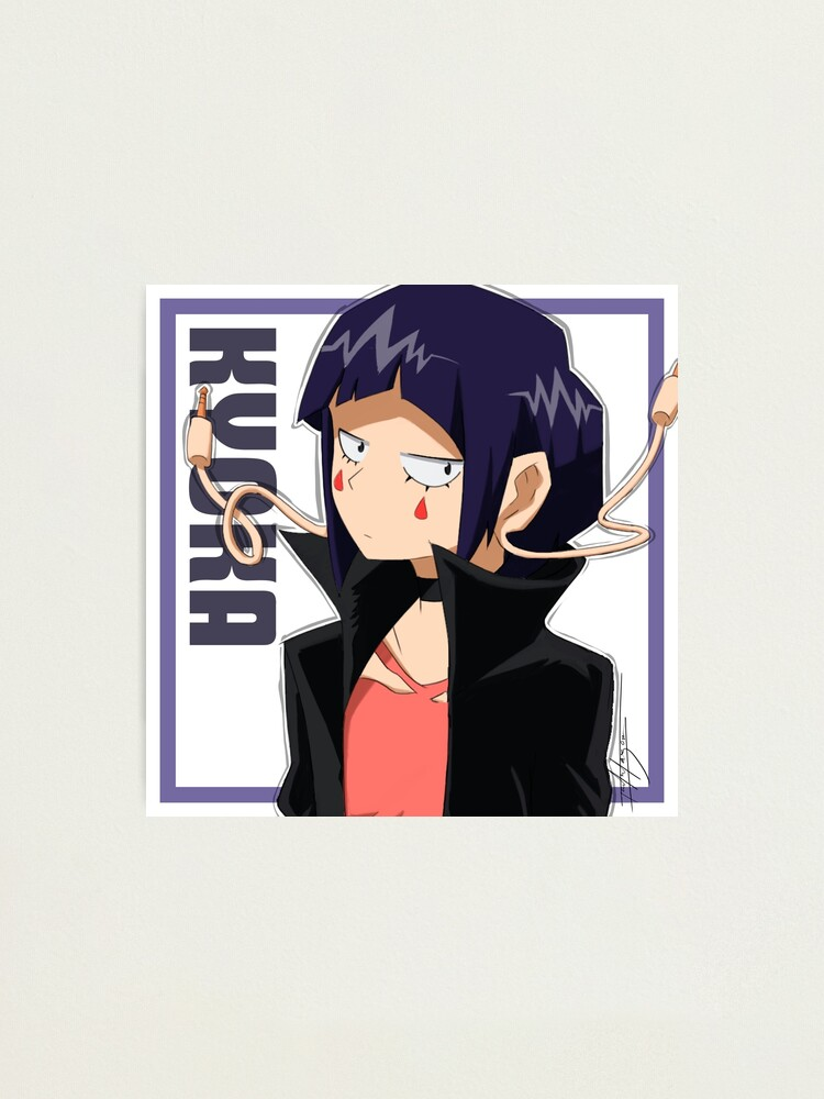 Kyoka Jiro Earphone Jack Photographic Print