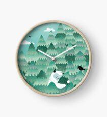 Tree Hugger (Spring & Summer version) Clock