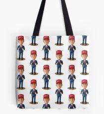 Bobble head  Tote Bag