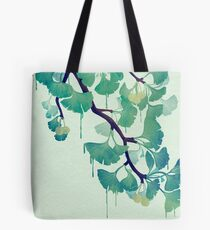 O Ginkgo (in Grün) Tote Bag