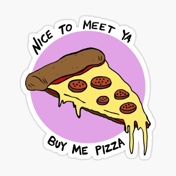 Nice To Meet Ya Sticker