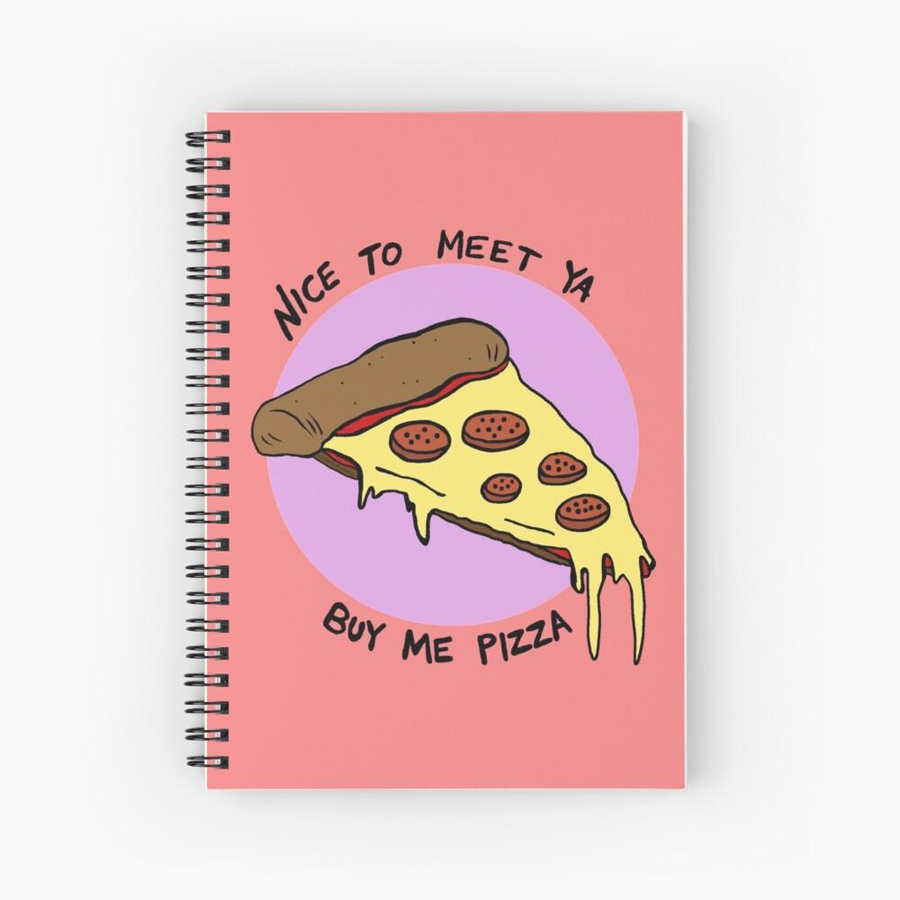Nice To Meet Ya Spiral Notebook
