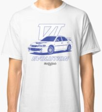 EVO6 (blue) Classic T-Shirt