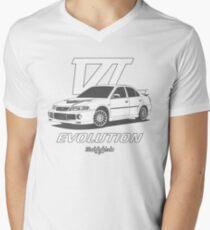 EVO6 (gray) Men's V-Neck T-Shirt