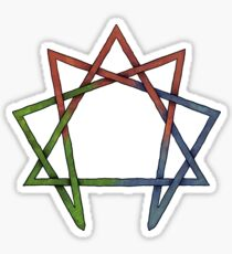 Enneagram - Celtic Knot Sticker