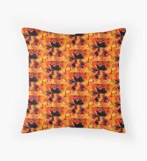 Hot Dragon  Throw Pillow