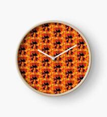 Hot Dragon  Clock