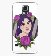 Purple Roses Case/Skin for Samsung Galaxy