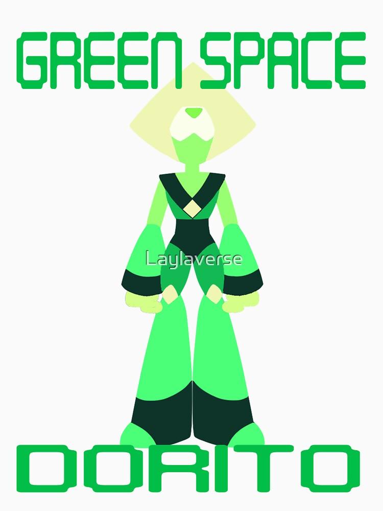 GREEN SPACE DORITO by Laylaverse