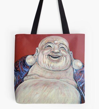 Lucky Buddha Tote Bag