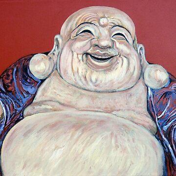 Lucky Buddha by donnaroderick