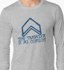 The Traveler Is My Copilot Long Sleeve T-Shirt