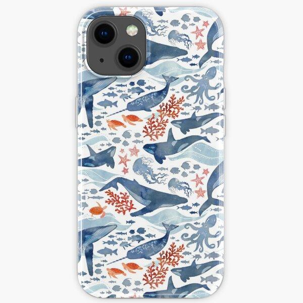 Ocean life iPhone Soft Case
