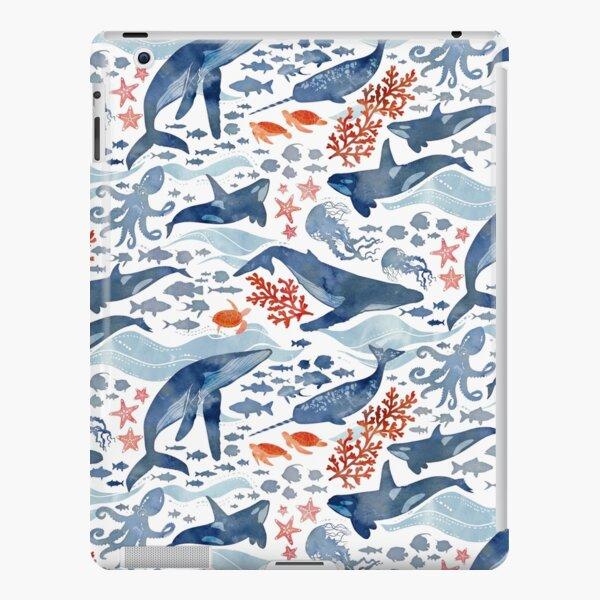 Ocean life iPad Snap Case