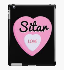 Sitar  Love Valentine's Day Hearts  iPad Case/Skin