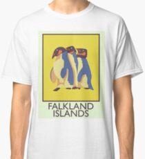 Falkland Islands travel poster Classic T-Shirt