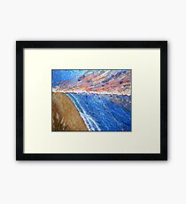 Sunset Seascape Framed Print