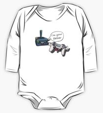 """Fathers day """"i'm your father"""" joysticks One Piece - Long Sleeve"""