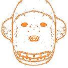 Inuit Alaskan Bear Mask T-Shirt by Nick Lewis
