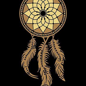 Traumfänger, dream catcher, dreamcatcher, Indianer, Federn, Schutzsymbol von nitty-gritty