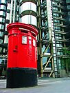 Post Box and Lloyds Building London by Colin  Williams Photography