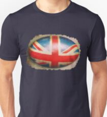 Union Jack on a rugby ball Unisex T-Shirt