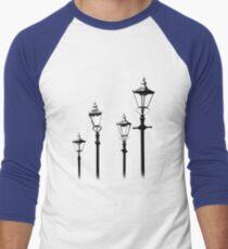 Lamplit (colour) Men's Baseball ¾ T-Shirt