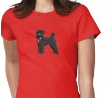 Poodle #2 Womens Fitted T-Shirt