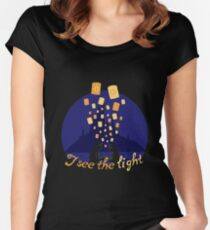 I see the light Women's Fitted Scoop T-Shirt
