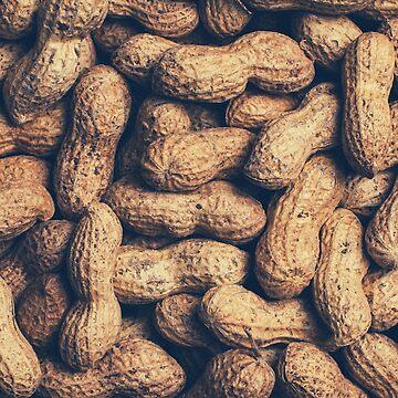 Peanuts background print by iresist