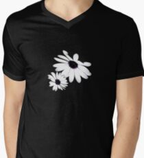 Daisies Mens V-Neck T-Shirt