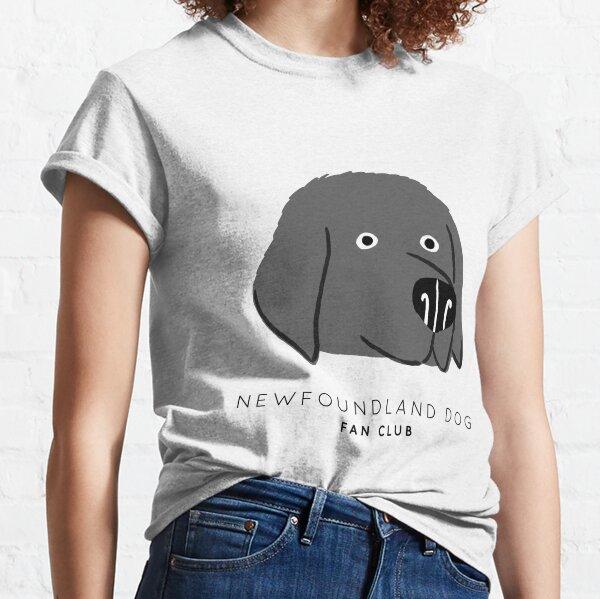 Newfoundland Dog Fan Club Classic T-Shirt
