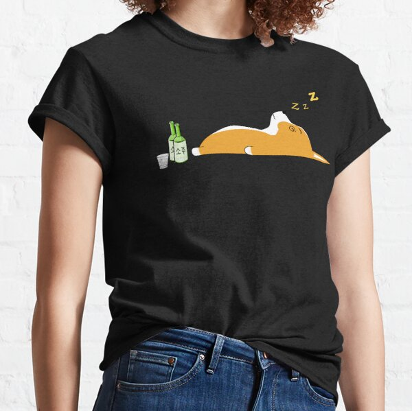 Corgi Nightlife Soju Classic T-Shirt