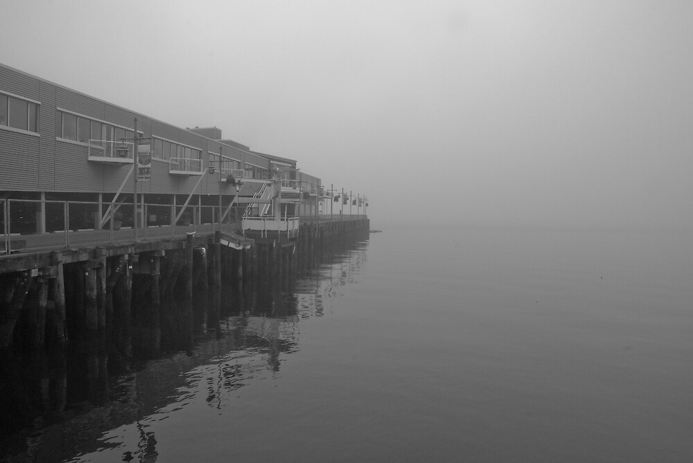 Pier @ Seattle, Washington by Mike Truong