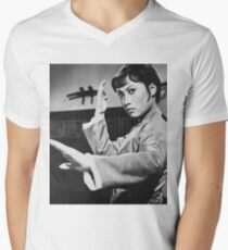 Angela Mao Men's V-Neck T-Shirt