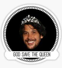 god save queen bob (1) Sticker