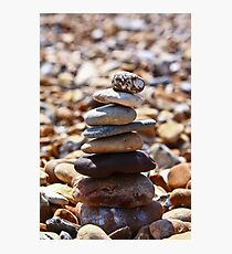 Pebble Stack Photographic Print