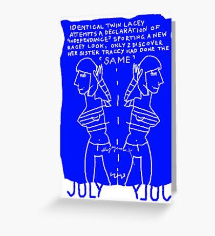 July Greeting Card