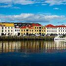 Hobart wharf, Victoria Dock Tasmania by Vanessa Pike-Russell