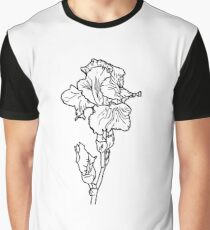 flower of iris Graphic T-Shirt
