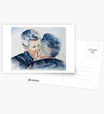Watercolor Robron Postcards