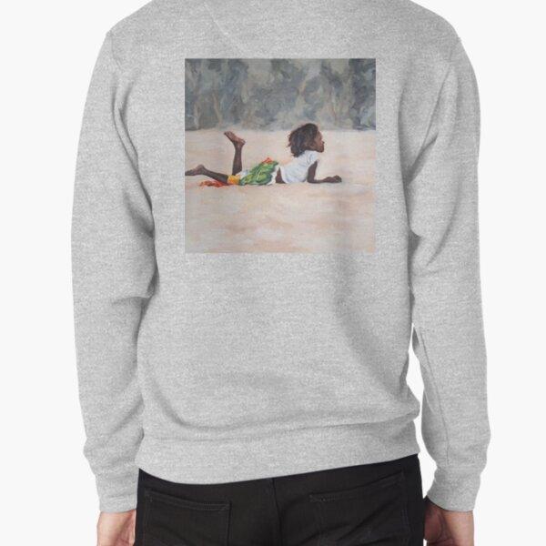 The girl Pullover Sweatshirt