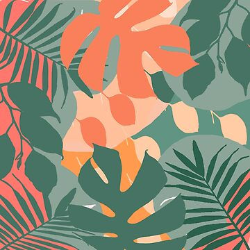 tropical pattern 1 by susana-art