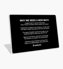 Why We Need A New Math Laptop Skin