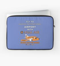 Fly to Quahog International Airport wth Anal Air Laptop Sleeve