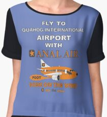 Fly to Quahog International Airport wth Anal Air Chiffon Top