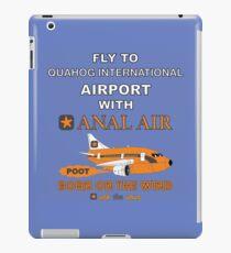 Fly to Quahog International Airport wth Anal Air iPad Case/Skin
